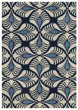 AMER Rugs Bombay Hand-Tufted Navy Area Rug