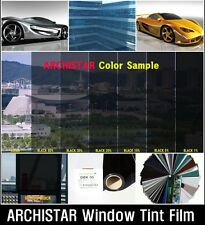 "WIDE:20""/VLT 15% Black Solar Film/Tint/Window/Glass/1PLY Normal/Privacy/Roll/"