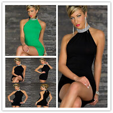 Womens Mini Dress Club Wear Night Wear Summer Party Evening Adult Outfit Sexy