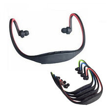Sports  Micro SD TF Headset Neckband Headphone Earphone MP3 Music Player