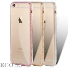 Ultra Thin Crystal Slim Bling Diamond TPU Silicone Case Cover For Apple iPhone