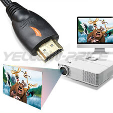 3FT HDMI Cable Pack, Advanced Braided HDMI 1.4 Cables Ethernet 3D 1080P for HDTV