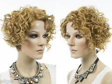 Short Lace Front Vivica Fox Wavy Curly Blonde Brunette Red Wigs