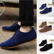 New Fashion Men's Flats Moccasin Loafer Casual Driving Leather Slip On Shoes AP2