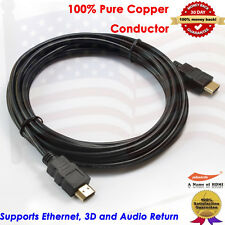 10FT 15FT HDMI Cable Pack, Super High Speed HDMI 1.4 Cable 1080P 3D HDTV PS4