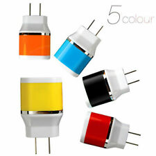 Dual USB Port Wall Home Travel AC Power Charger Adapter Wall Charger for Phones