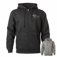 Redington Electirc Mayfly Fly Fishing Hoodie Sweater Pull-Over Cold Weather