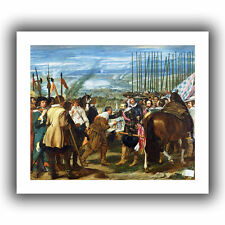 'The Surrender of Breda' by Diego Velazquez Painting Print on Wrapped Canvas