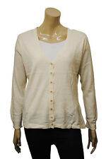 Womens Lady Collection Cardigan Long Sleeve Ivory White Size 10 to 28 Ladies