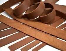 SECONDS: One 5-6oz BROWN OIL-TANNED LEATHER (Medium Weight) Strap Strip Hide