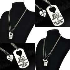 New 2PC/Lots Charm Gift Necklace Daughter Dad Mother Gifts Party Women&Girl Hot