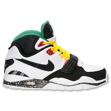New Nike Men's Air Trainer SC II Shoes (443575-109) White/Black/Chilling Red/Grn