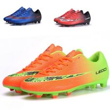 Kids Boy FG Soccer Outdoor Shoes Soccer Cleats Football Trainers Sports Shoes
