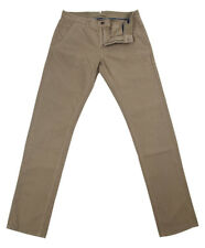 New $375 Incotex Beige Solid Pants - Slim - (JOYC40338410)