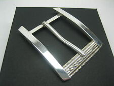 "STERLING SILVER 925 BUCKLE AVAILABLE FOR 1"" 1-1/8"" 1-1/4"" 1-3/8"" 1-1/2"" BELTS"