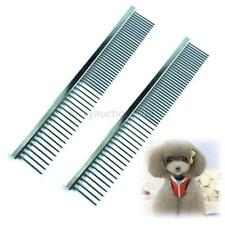 New Pet Dog Cat Cute Stainless Steel Comb Long Hair Shedding Grooming Flea Comb