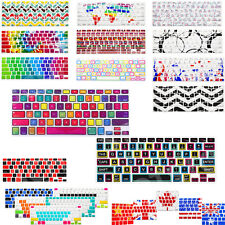 Silicone Rubber Keyboard Skin Cover for Apple Macbook Air Pro Retina 13 15 17