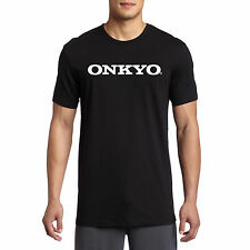 Onkyo Amp Speakers Home Theater System Audio Logo BLACK T SHIRT SIZE S-3XL