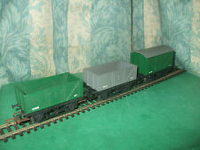 TRIANG HORNBY RAKE OF 3 GOODS WAGONS - R10, R10 & R11