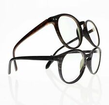 Retro Classic Unisex Wood Round Frame Reader Reading Glasses +1.00 ~ +4.00 New