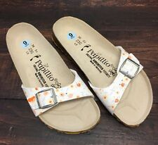 Birkenstock Papillio Single Strap Slides Sz 6 Sandals 3 Different Floral Colors