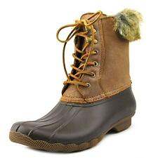 Sperry Top Sider White Water Women  Round Toe Synthetic Brown Rain Boot