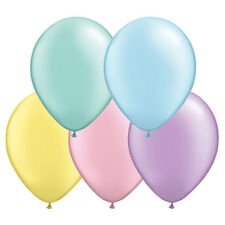 "20 plain Qualatex 11"" pearl  metallic latex balloons choice of 24 colours- inch"