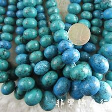 """Assorted Turquoise Beads Loose Gemstone Beads Strand 15"""" Jewelry Making Beads"""