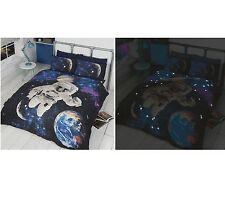 Childrens space shuttle astronaut quilt duvet cover for Space shuttle quilt