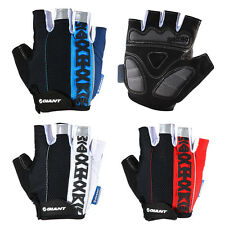 GIANT Cycling Bike Short Fingerless Gloves Summer Half Finger Gloves Unisex New