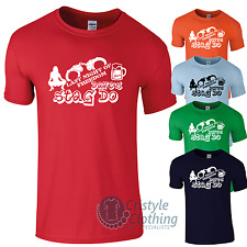 Personalised Stag Night T-Shirts Add Groom Name, Destination & Year