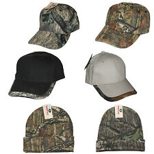 Genuine Mossy Oak Camo Camouflage Hunting Hats Pick Style - One Size Fits All