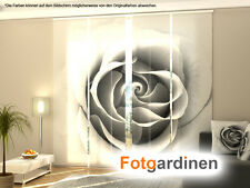 gardinen vorh nge rosen. Black Bedroom Furniture Sets. Home Design Ideas