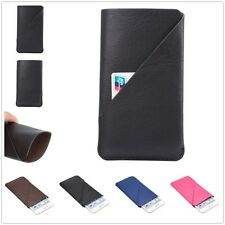 Universal For Smart Phone Wallet Bag Purse Pouch Sleeve Case Card Pocket 4 Sizes