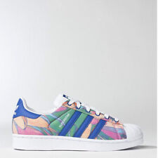 Adidas S75129 Women Originals Superstar Casual shoes blue white