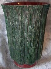 Aborn H-5 California Pottery Tree Bark Vase, Unusual and Beautiful