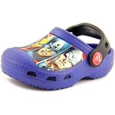 Crocs Marvel Avengers III Youth  Round Toe Synthetic Blue Clogs