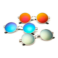 Fashion Boys Girls Children Kids Retro Round UV400 Sunglasses Goggles Eyewear