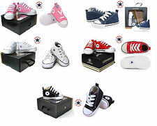 Unisex Converse All Star for Infant Newborn Baby Crib Trainer Soft Sole Shoes