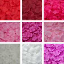 New 100pcs Silk Rose Flower Petals for Wedding Party Table Confetti Decoration