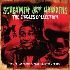 Singles Collection - Hawkins,Screamin' Jay New & Sealed CD-JEWEL CASE Free Shipp