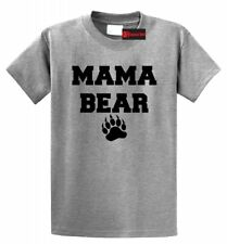 Mama Bear Cute T Shirt Mothers Day Gift Tee Mom Mommy Tee
