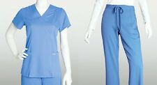 Grey's Anatomy 41101 & 4232 Scrub Set Top & Pants Ceil, Navy, Black XS-2XL