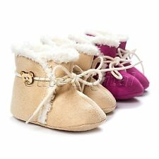 Newborn Baby Unisex Infant Toddler Soft Sole Anti-Slip Shoes Winter Warm Boots