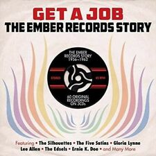 Get a Job: Ember Reocrds Story 56-62 - V/A New & Sealed CD-JEWEL CASE Free Shipp