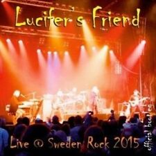 Live At Sweden Rock 2015 - Lucifers Friend New & Sealed CD-JEWEL CASE Free Shipp