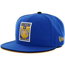 New Era 59Fifty Monterrey Tigres UANL Fitted Hat (Royal Blue) Mexico Soccer Cap