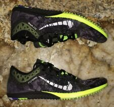 NIKE Zoom Victory XC 3 Black Grey Cross Country Spikes Shoes New Mens Sz 4.5 7 8