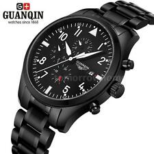 Men Luminous Automatic Mechanical Watch Stainless Steel Date Sport Military K5W9