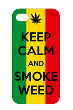 KEEP CALM SMOKE WEED Cannabis Marijuana Design Case Cover For Apple iPhone 5s 6s